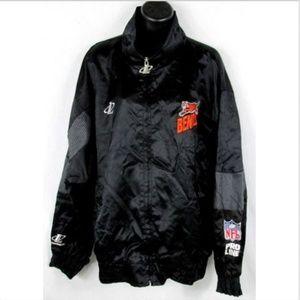 VTG Logo Athletic NFL Bengals Jacket Mens Large L